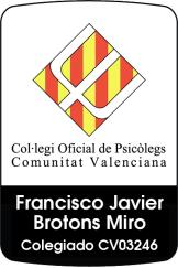 Terapia de pareja Valencia. Psicólogo colegiado.
